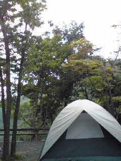 キャンプへ